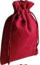 Baumwollsäckchen rot, 30 x 20 cm