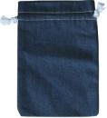 Jeans-Stoffbeutel 30 x 20 cm, 100% Baumwolle