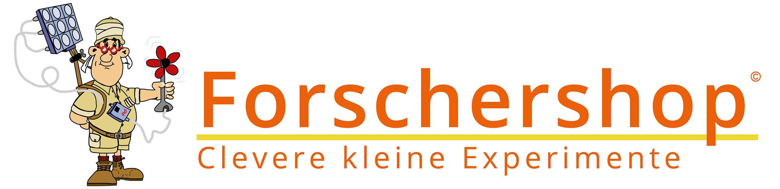 Forschershop - Clevere kleine Experimente-Logo